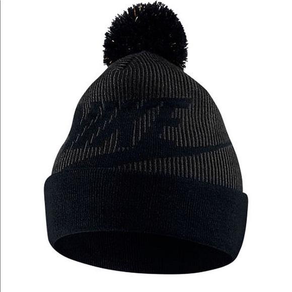 18ee32b4b9c Nike Women s Beanie Pom Hat
